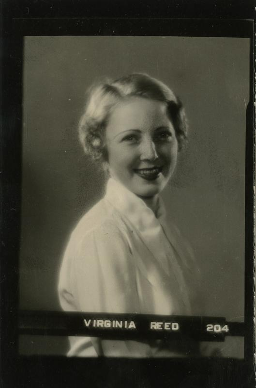 Portrait of Virginia Reed