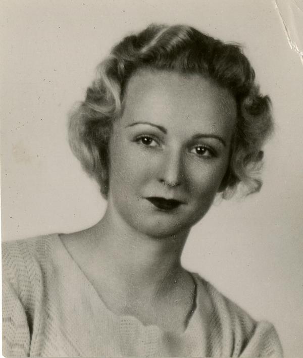 Portrait of Joy May Parke