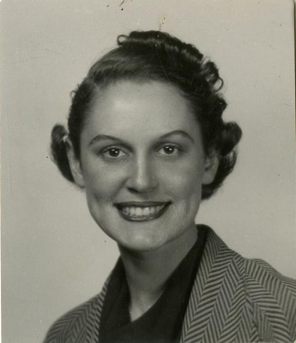 Portrait of Betty Jo Bilger