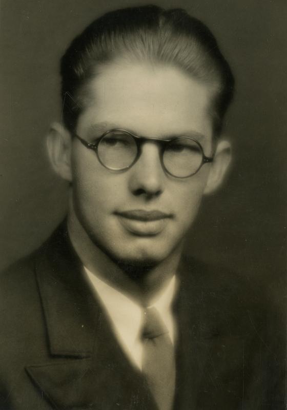 Portrait of Arnold Peck