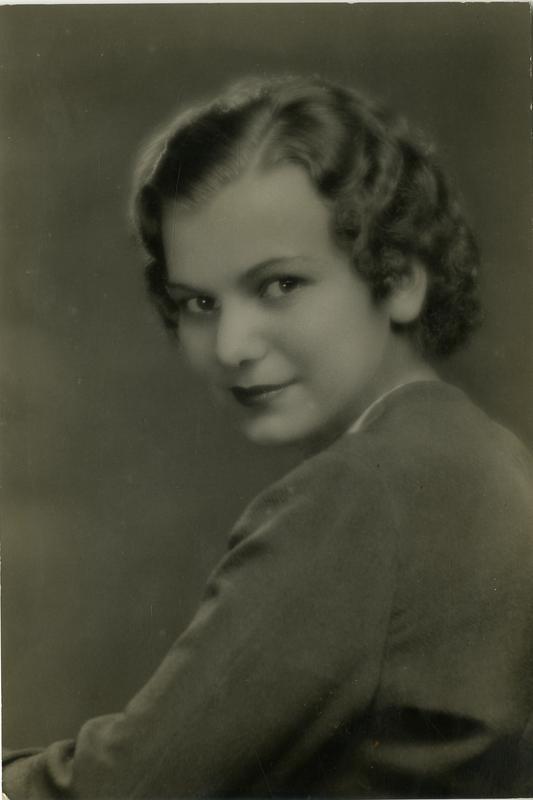 Portrait of Francine Becheraz
