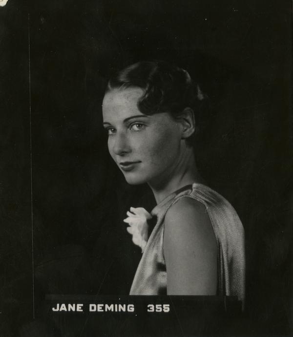 Portrait of Jane Deming