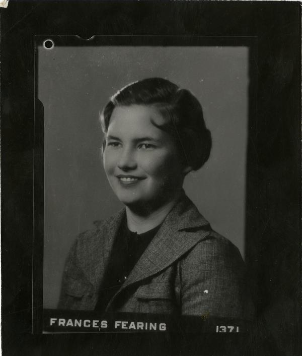 Portrait of Frances Fearing