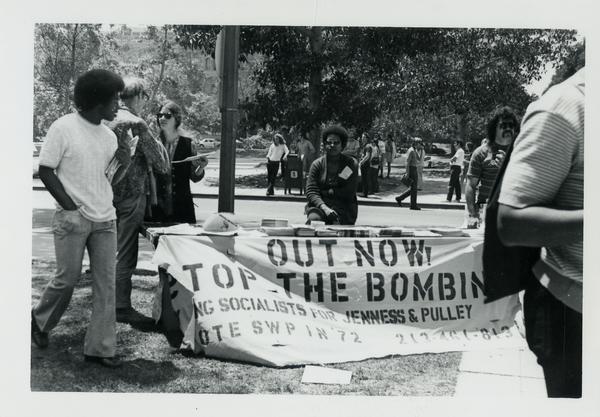 Student activists, ca. 1972