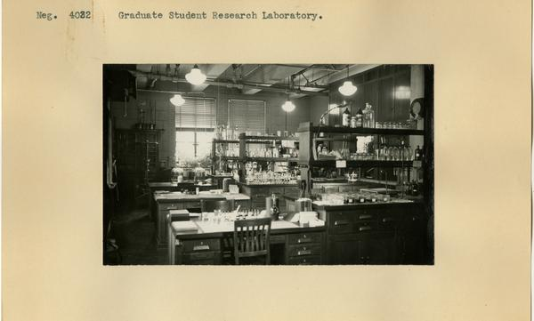 View of the Graduate Student Research Laboratory