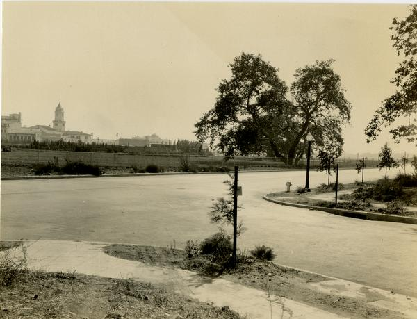 View of Subtropical Horticulture tract from northwest corner, ca. October 1929