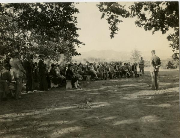 First fruit-growers meeting on Subtropical Horticulture tract, October 19, 1929