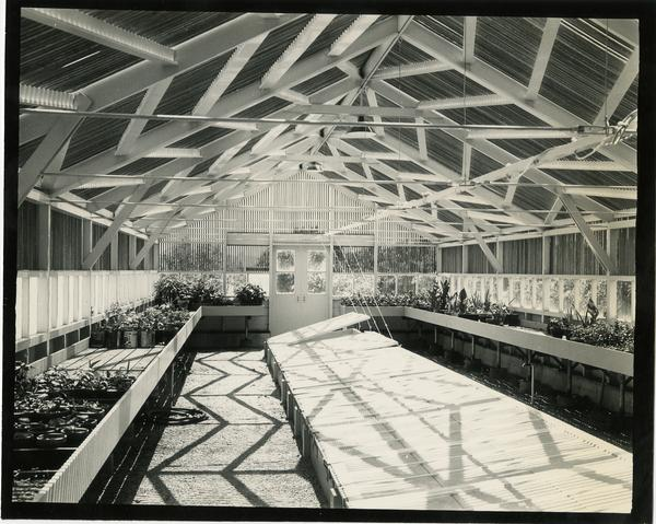 Interior view of Propagation House