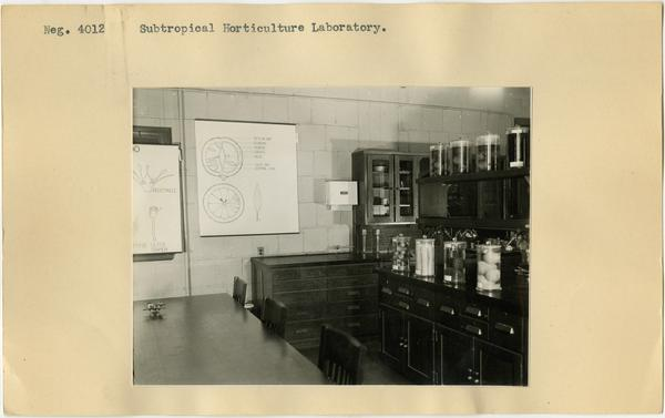 Subtropical Horticulture laboratory