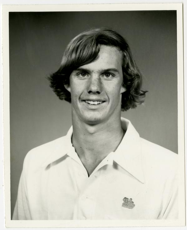Portrait of Swim team member, Steve Barnicoat