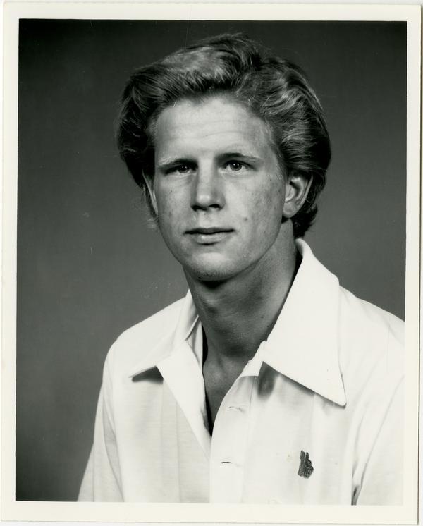 Portrait of swim team member, Doug Titherly