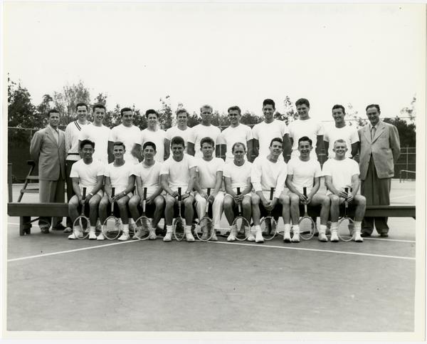 UCLA's 1950 NCAA championship tennis team