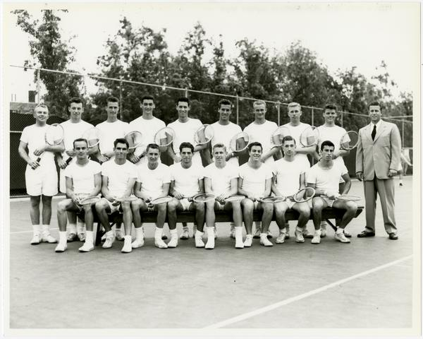UCLA's 1952 NCAA championship tennis team