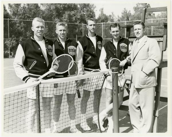 UCLA's 1953 NCAA championship tennis team