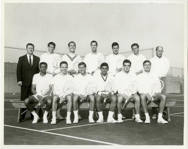 UCLA's 1965 NCAA championship tennis team