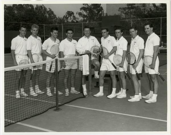 UCLA's 1960 NCAA championship tennis team