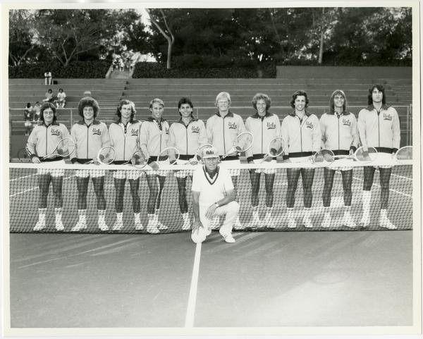 UCLA's 1975 NCAA championship tennis team
