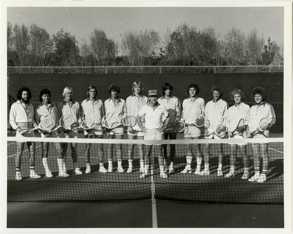 UCLA's 1976 NCAA championship tennis team