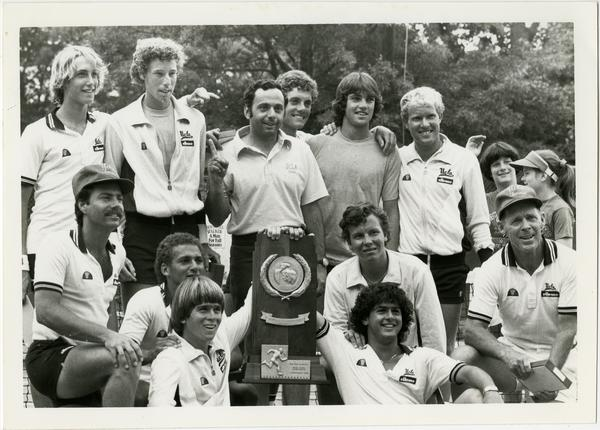 UCLA's 1982 NCAA championship tennis team