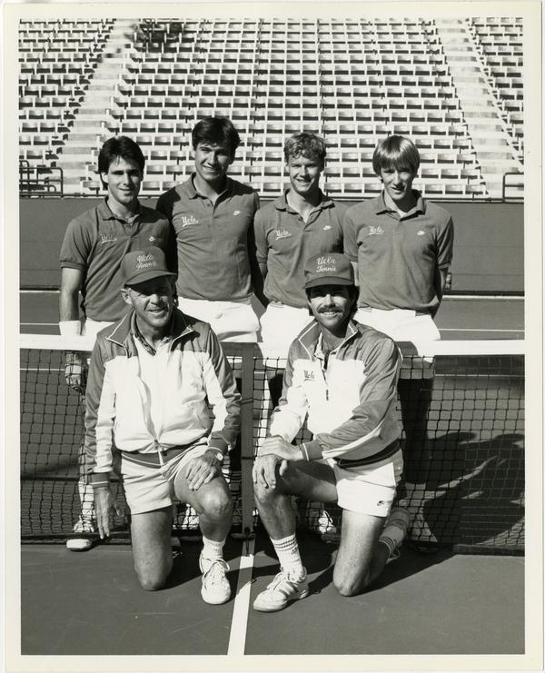UCLA's 1984 NCAA championship tennis team, January 18, 1984