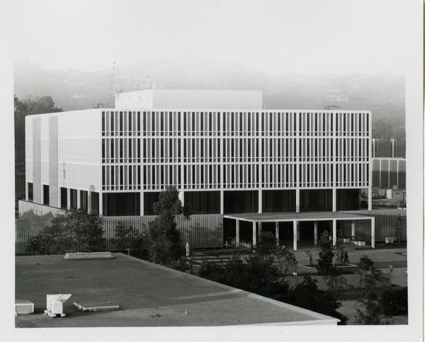 Exterior of the University Research Library