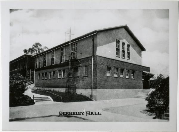 Exterior view of Berkeley Hall on Vermont Ave campus