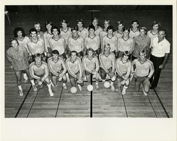 UCLA Volleyball team portrait