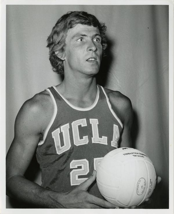 UCLA volleyball player, Ron Coon