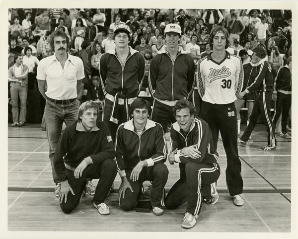 NCAA volleyball team, May 9, 1980