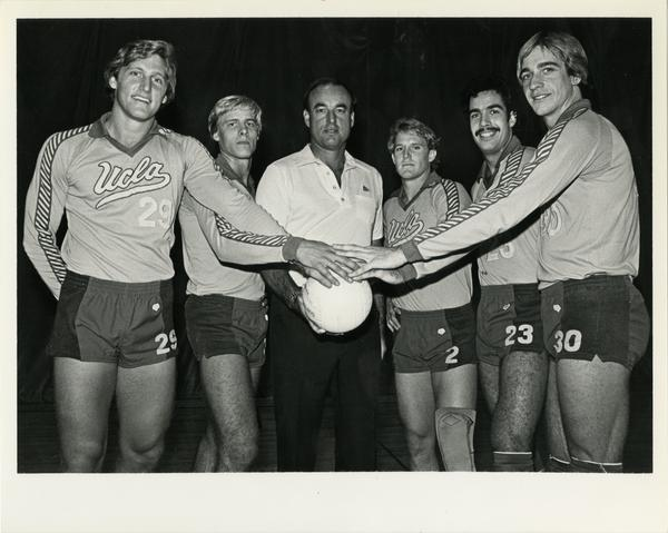 Photo of Salmons, Kiraly, Scates, Ehrman, Amon, and Gulnal