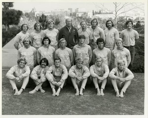 UCLA's 1972 NCAA championship water polo team