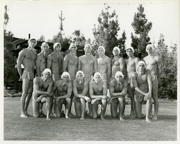 UCLA's 1971 NCAA championship water polo team