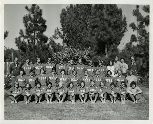 UCLA Water Polo team, ca. 1974