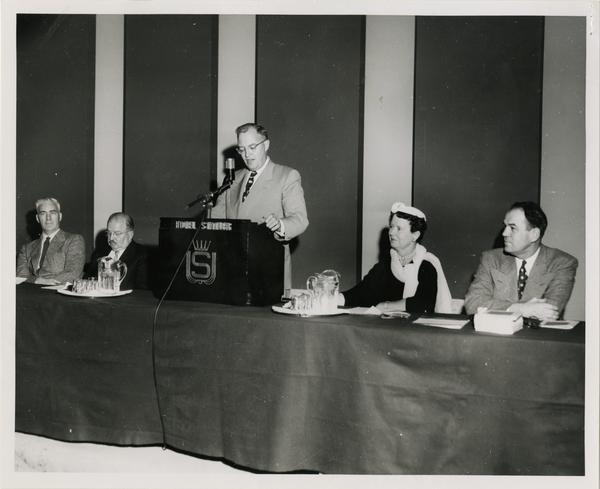 Western College Association Spring Meeting, ca. 1954