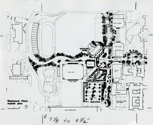 Master plan of Westwood Plaza