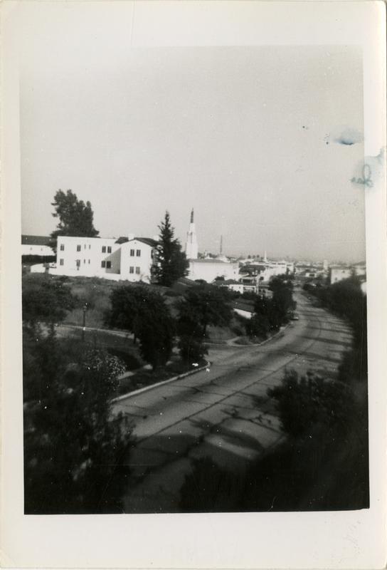 Looking toward town, June 1943