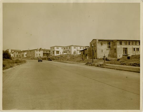 View of Hilgard Avenue, ca. 1930