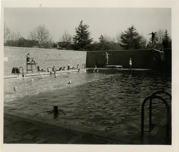 Women's Gymnasium swimming pool