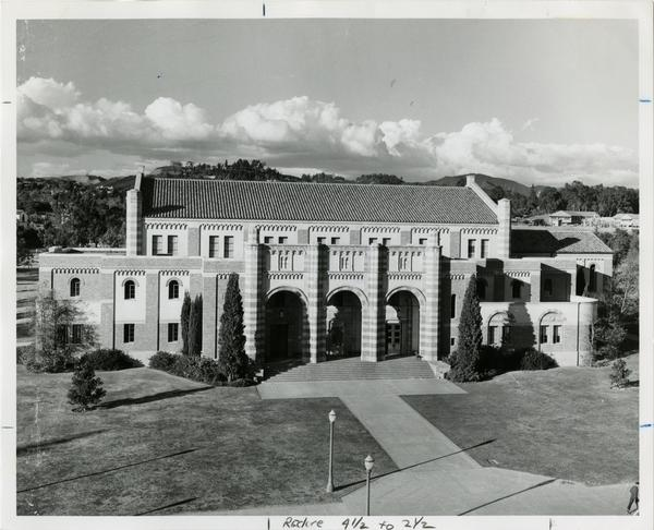 Exterior view of Women's Gymnasium