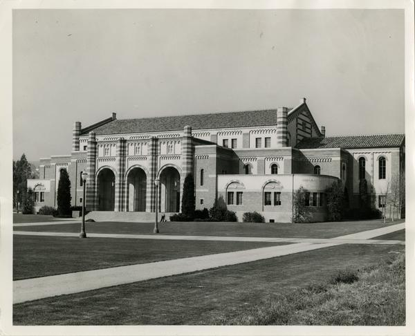 View of Women's Gymnasium