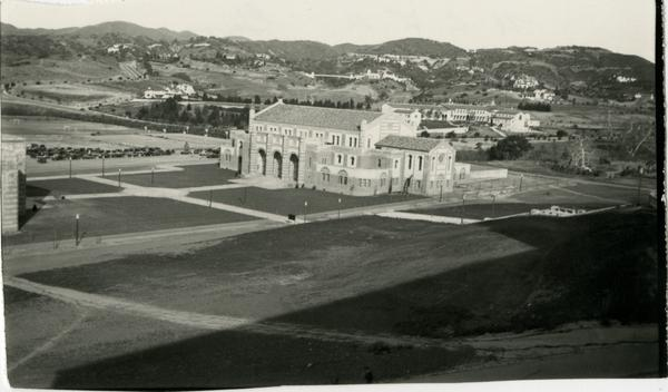 View of Women's Gymnasium, later named Kaufman Hall, ca. 1932
