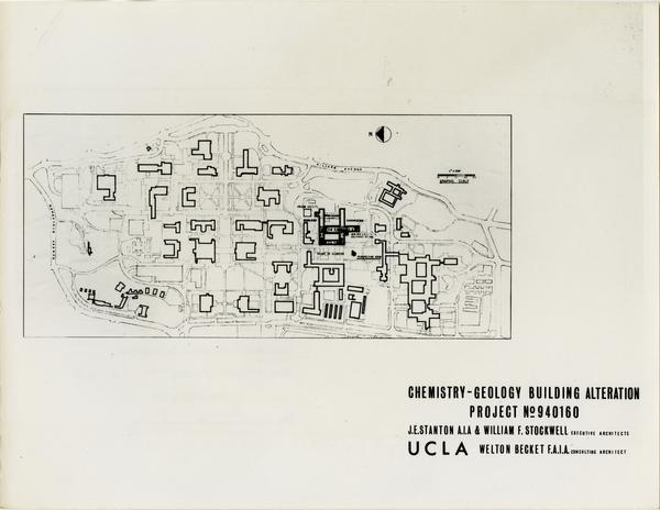 Campus map with Young Hall alteration