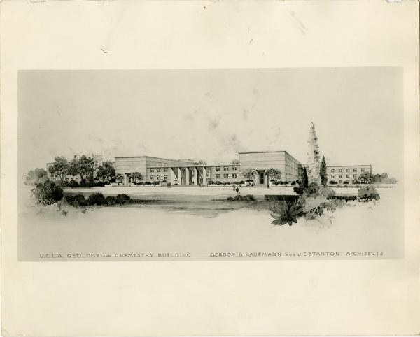 Architectural rendering of Young Hall