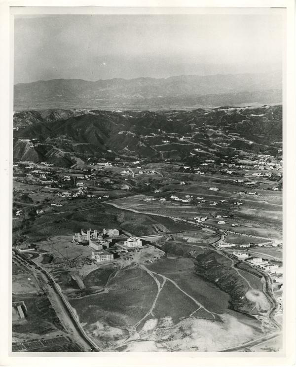 Aerial View of UCLA Campus, ca. 1930