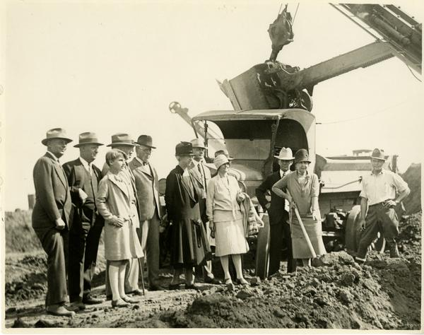 Campus Groundbreaking, October 1926