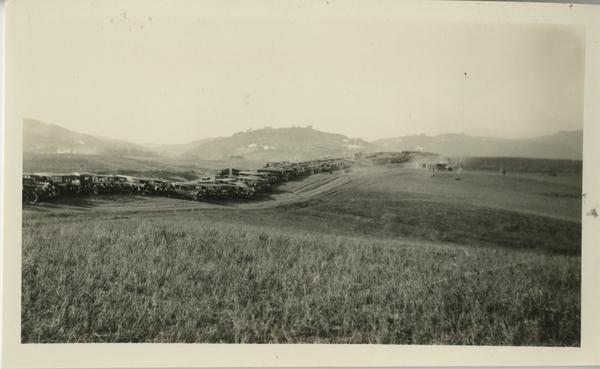 UCLA campus groundbreaking, October 1926