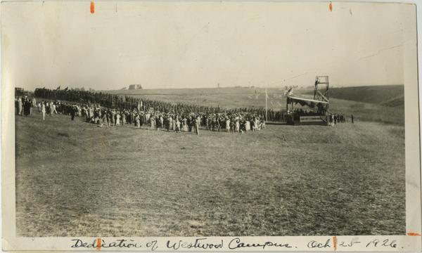 Dedication of Westwood Campus, October 1926