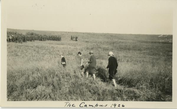 Campus groundbreaing ceremony, October 1926
