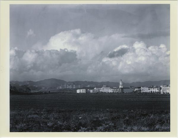 Campus View from Westwood Village, ca. 1935