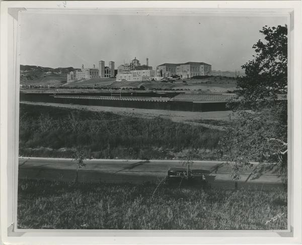 Kerckhoff Hall Construction, ca. 1931